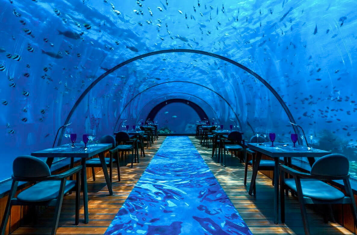 5.8 The Undersea Restaurant - Maldives