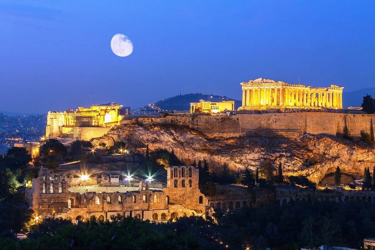 Acropolis.-Greece