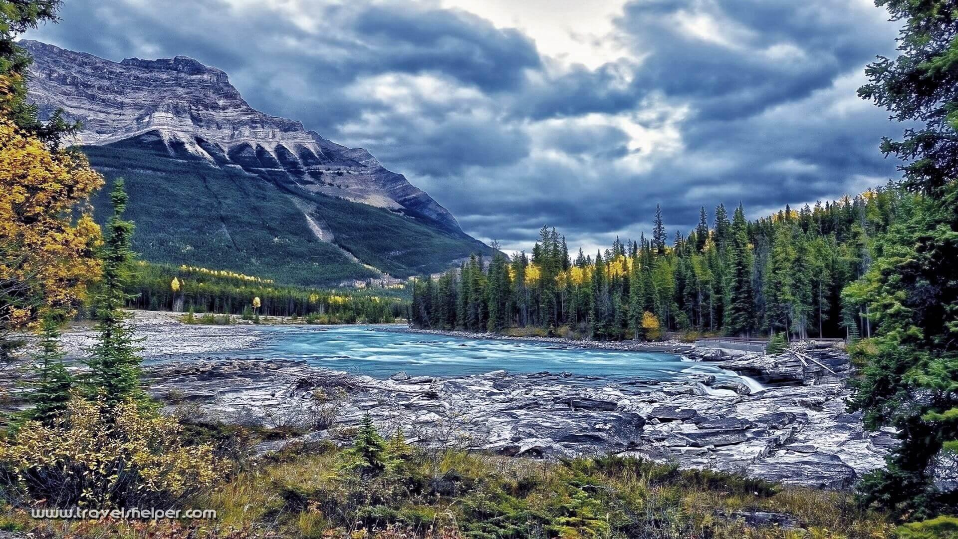 Athabasca Glacier in Canada