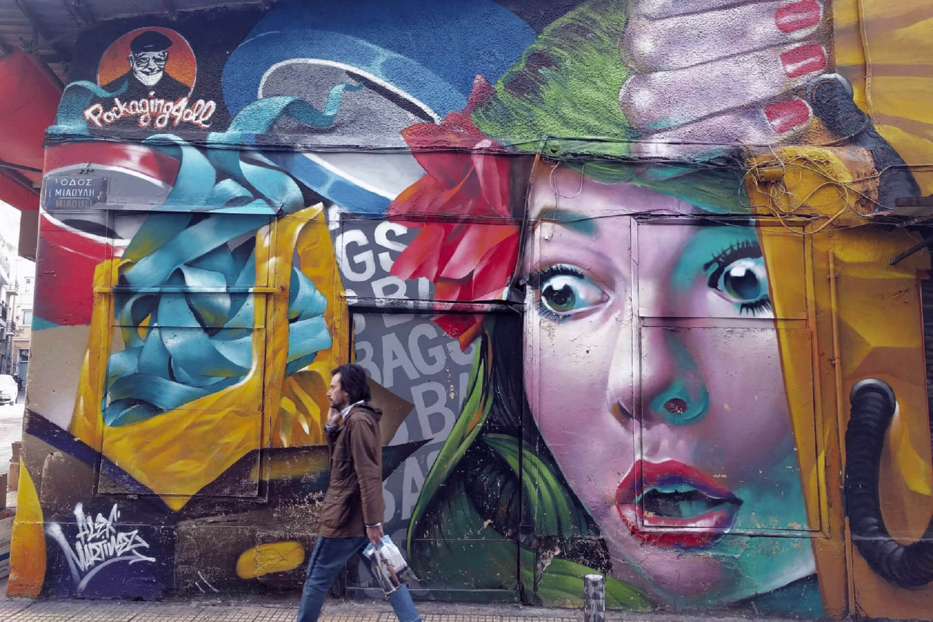Athens - Cities in which you will be able to enjoy street art
