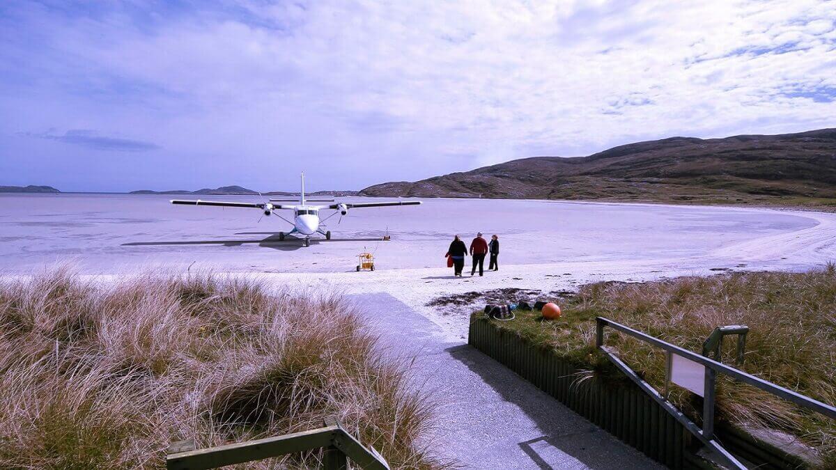 Barra-Island-runway-Scotland