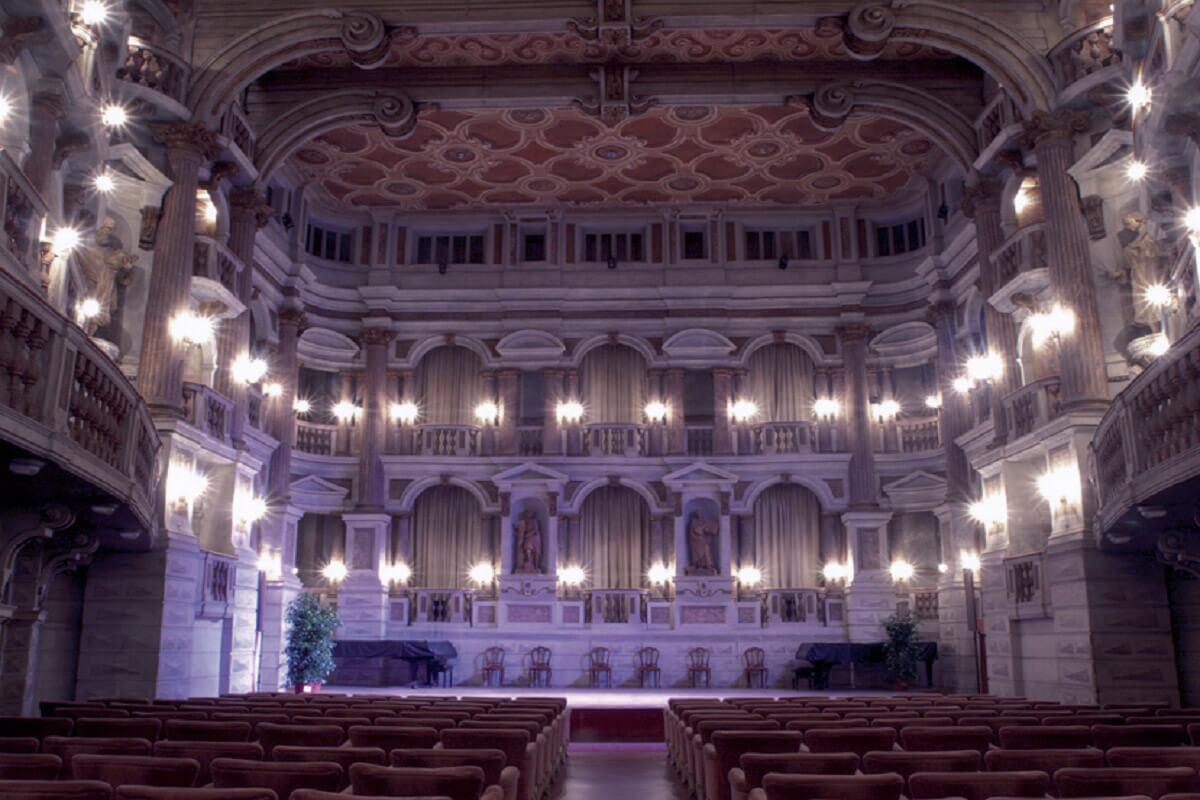Bibien Theater of Science in Mantua