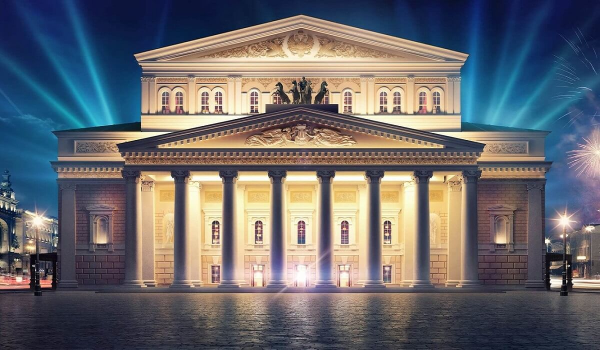 Bolshoi Theater - Moscow White Russian Fairy Tale