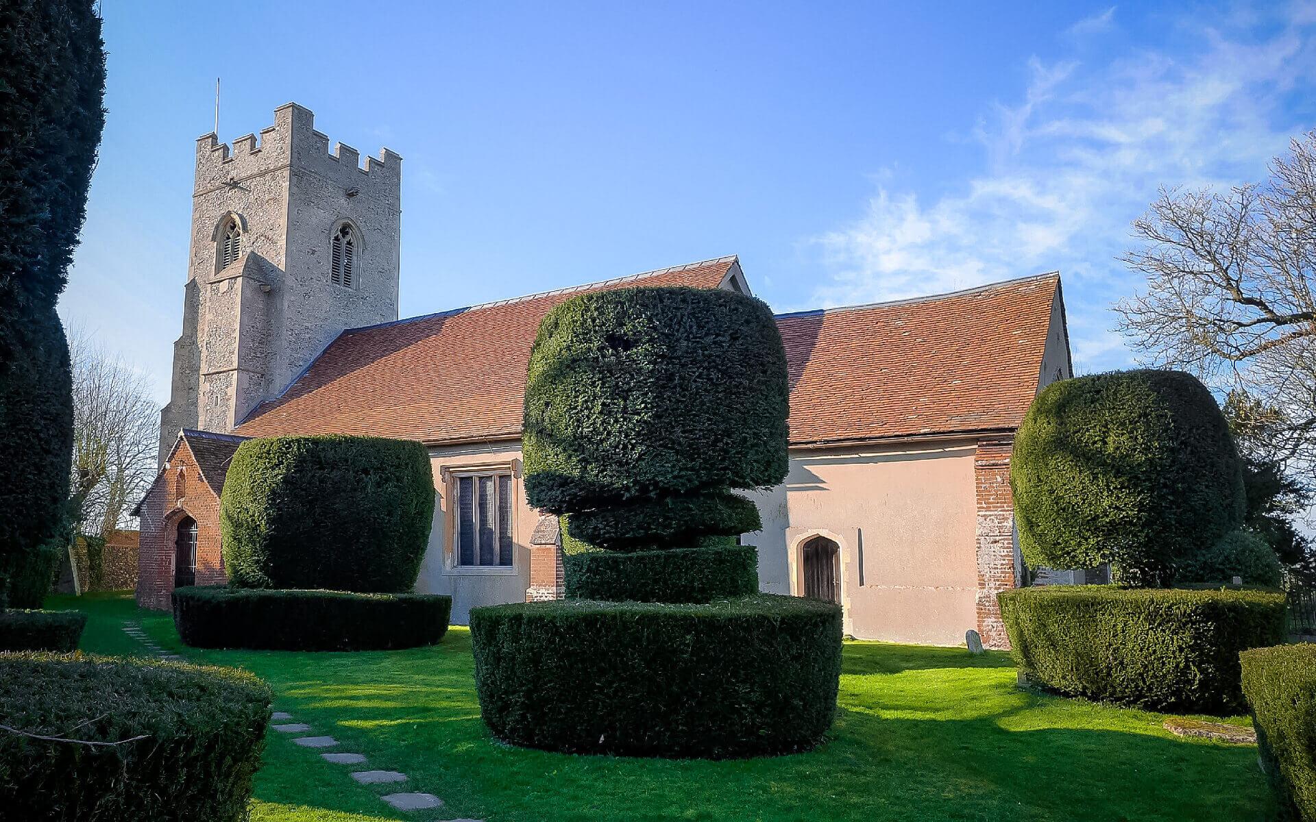 Borley Church in Essex