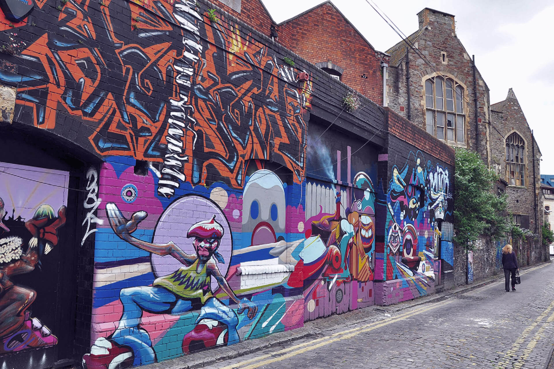 Bristol - Cities in which you will be able to enjoy street art