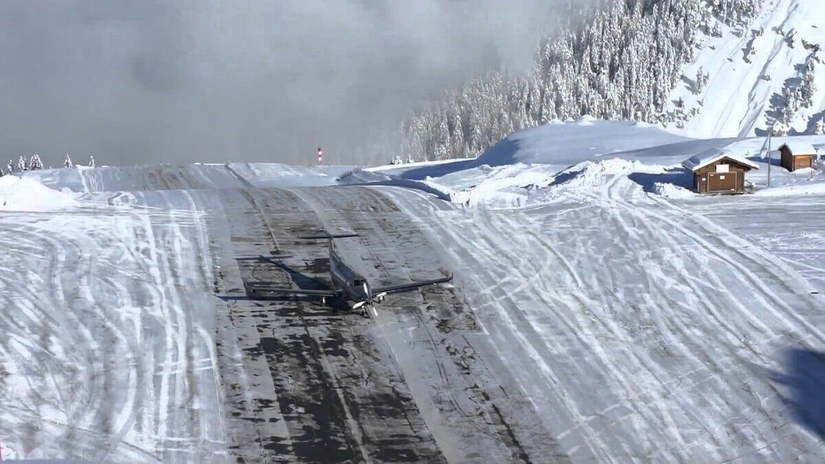 Courchevel-runway-France