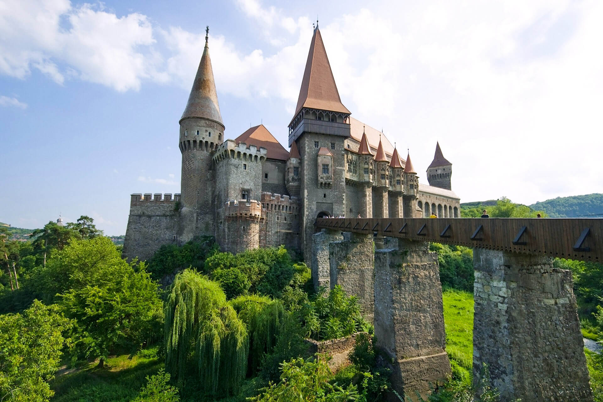 Dracula's Castle Open For Courageous Guests