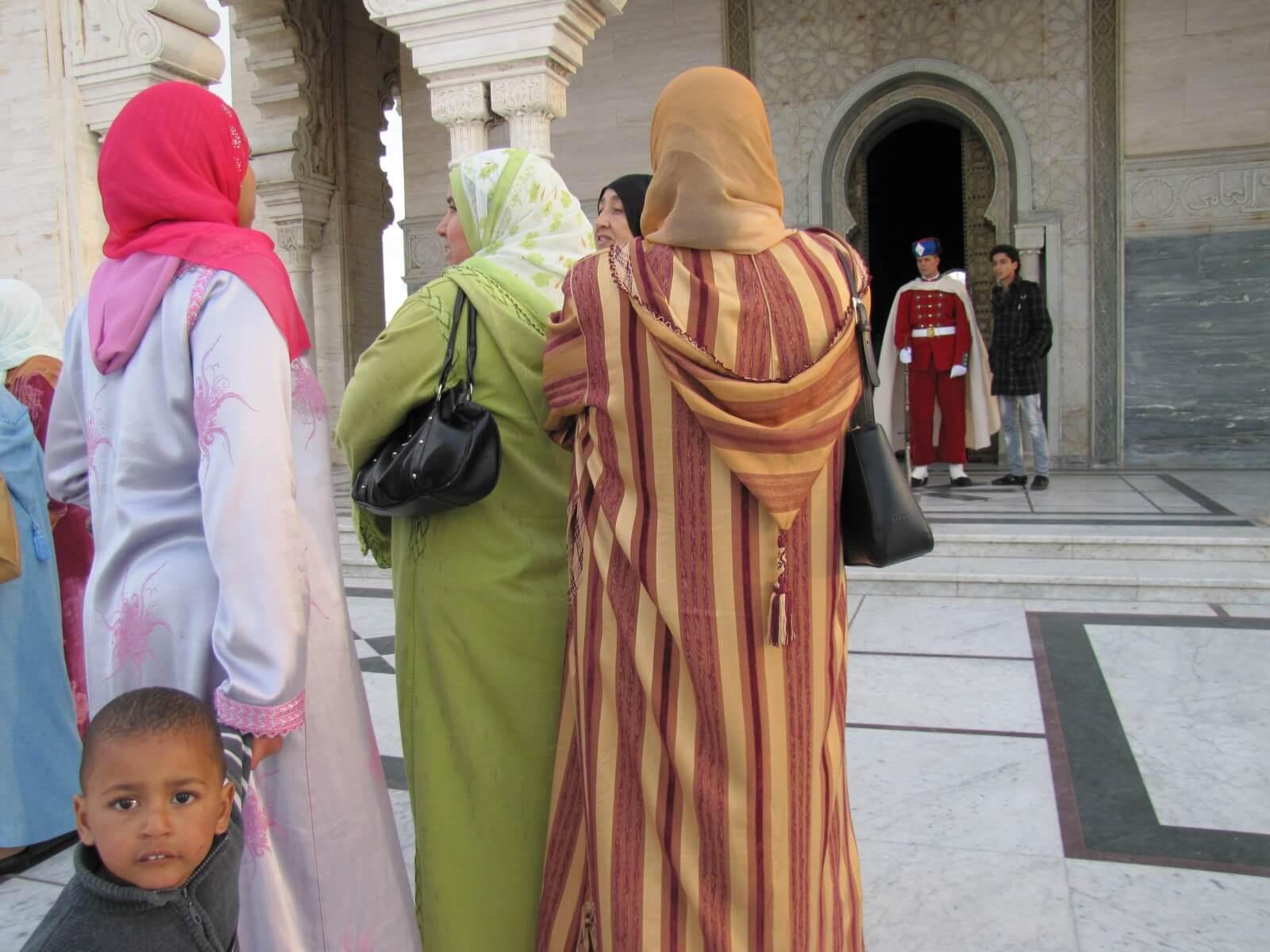 Dress code in Islamic countries, Morocco