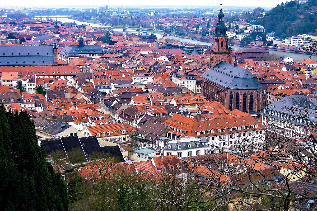 Heidelberg, Baden-Wuerttemberg - German Fairytale Cities