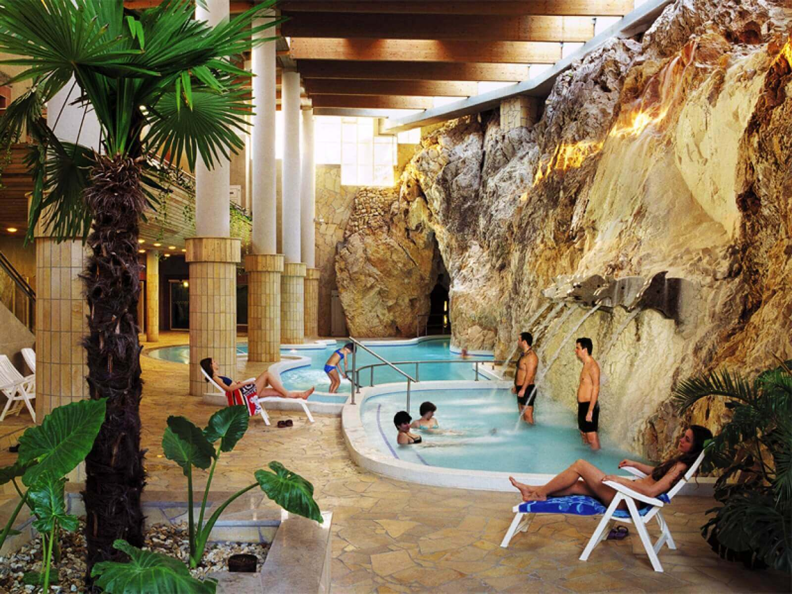 Hungary - spa in a cave