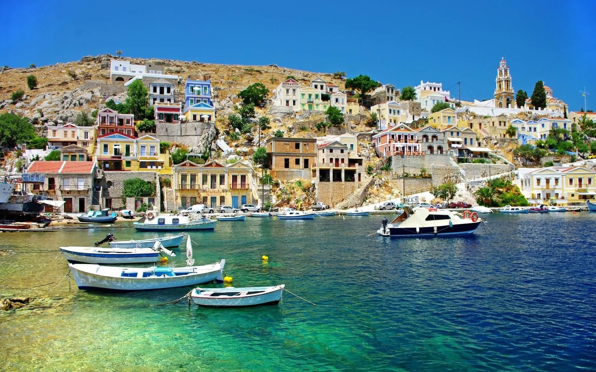 Island Symi Sponge of Aegean Sea