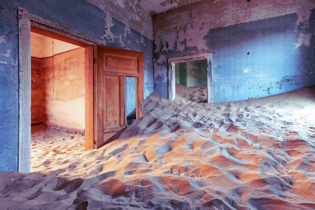 Kolmanskop - Abandoned places that were once very lively