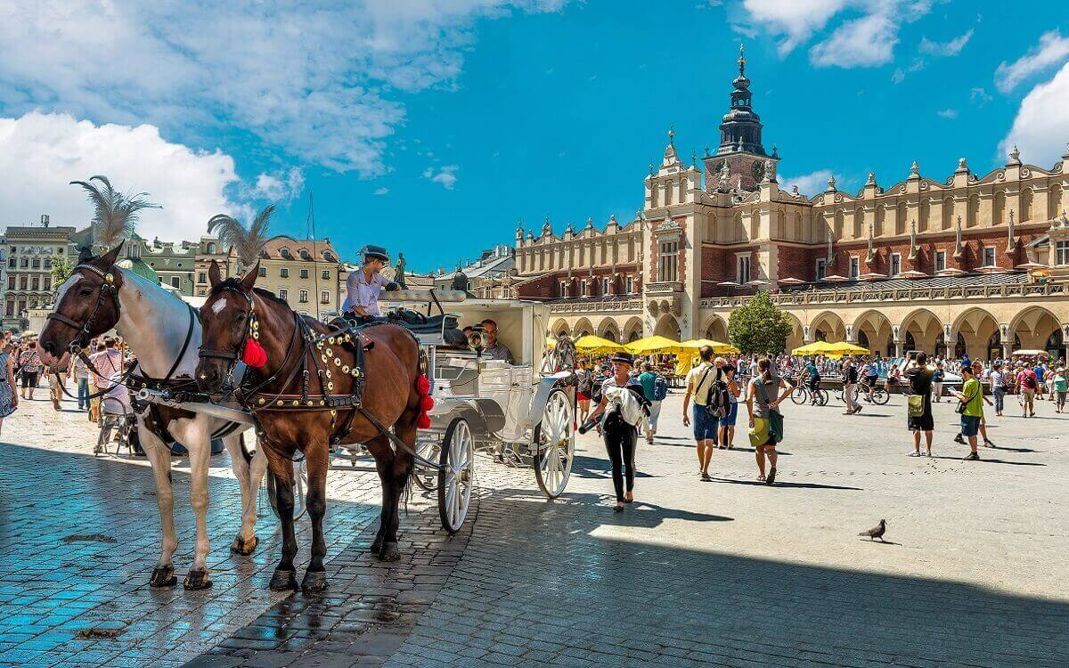 Krakow – magical student's city