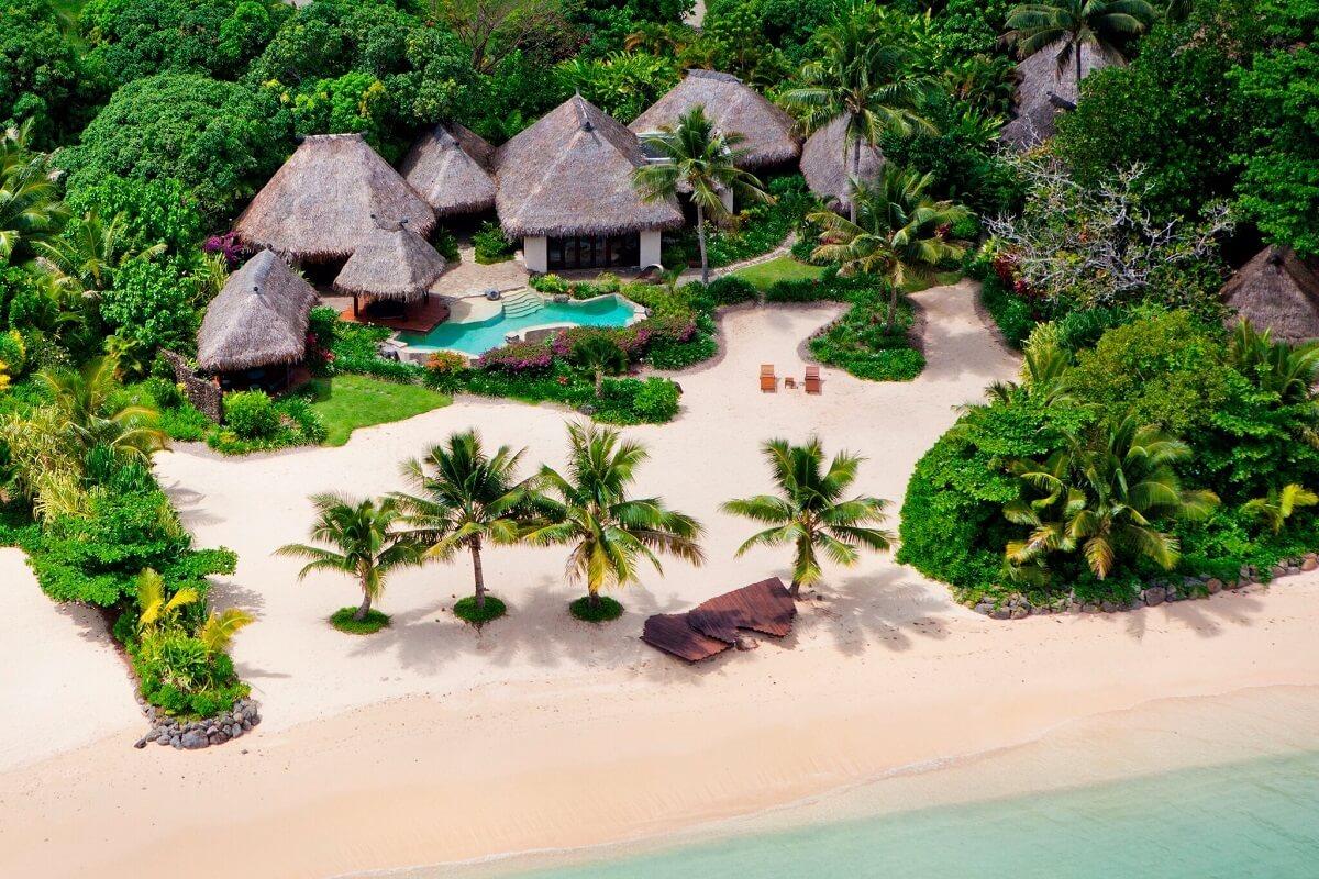 Laucala island in Fiji