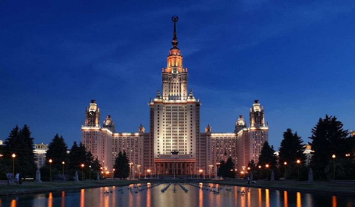 Lomonosov Moscow State University - Moscow White Russian Fairy Tale