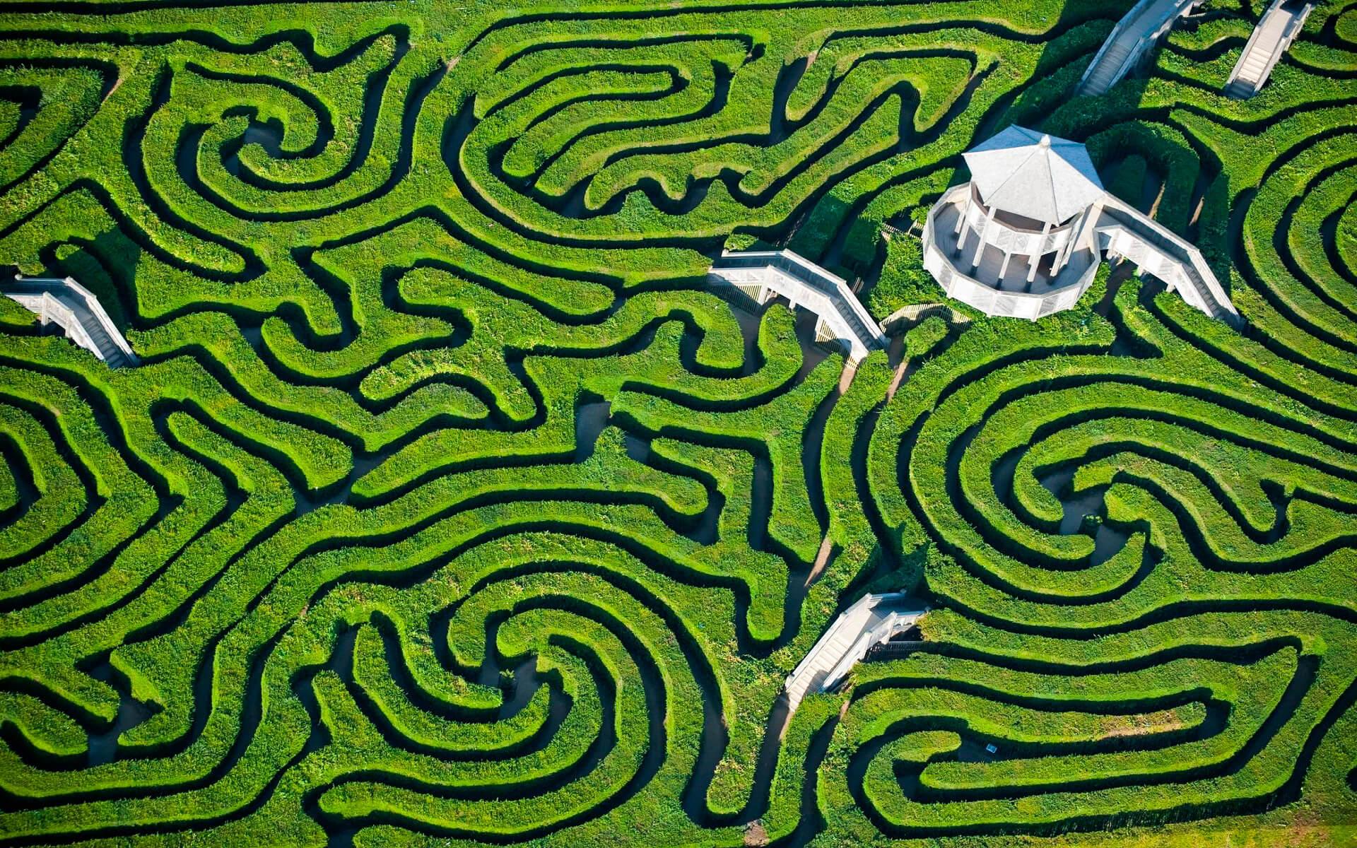 Longleat Labyrinth, England