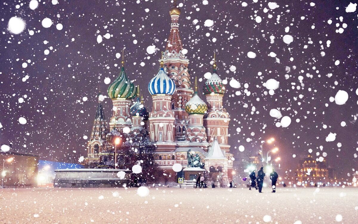 Moscow - White Russian fairy tale