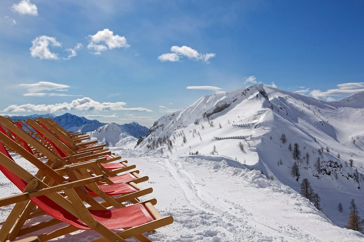 Nassfeld, one of the most popular ski resorts