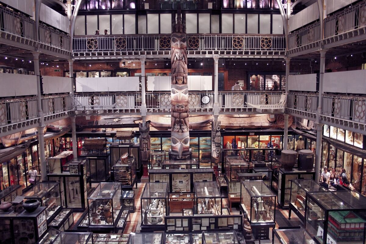 Pitt Rivers Museum in Oxford, UK