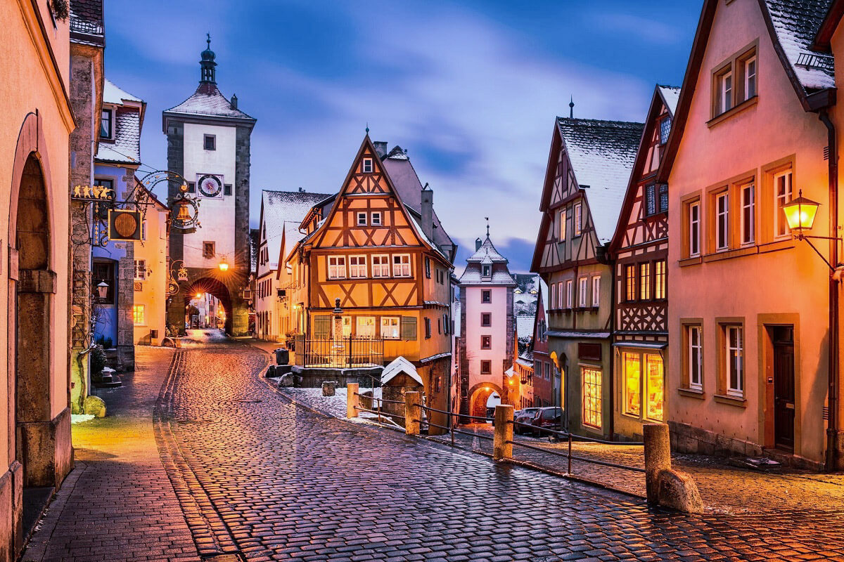 Rothenburg, Bavaria - German Fairytale Cities