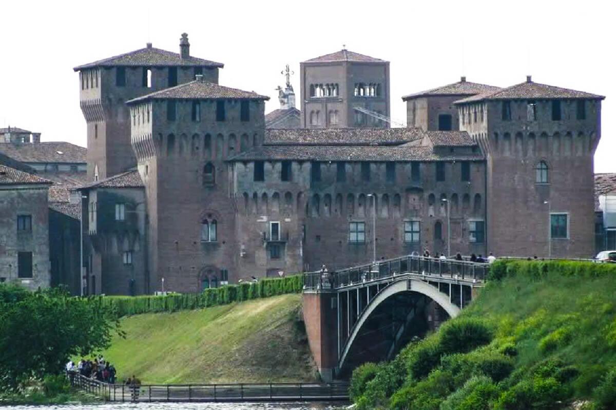 San Giorgio Bridge in Mantua