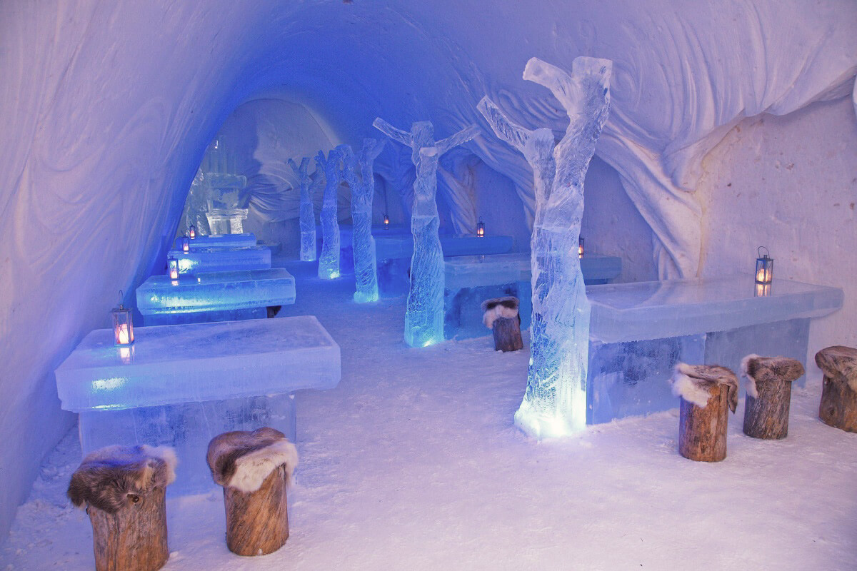 Snow castle Kemi, Finland