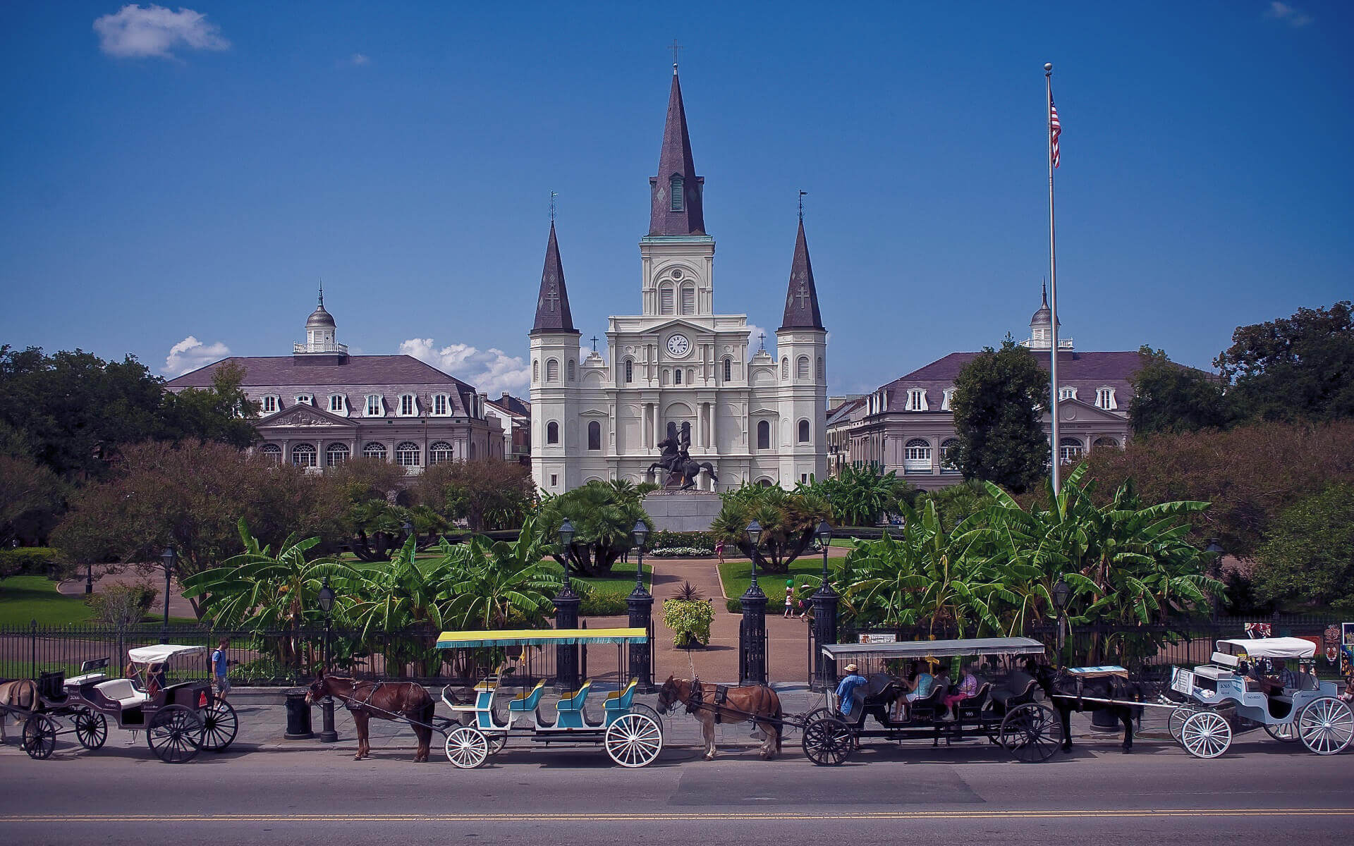 St Louis Cathedral, Louisiana