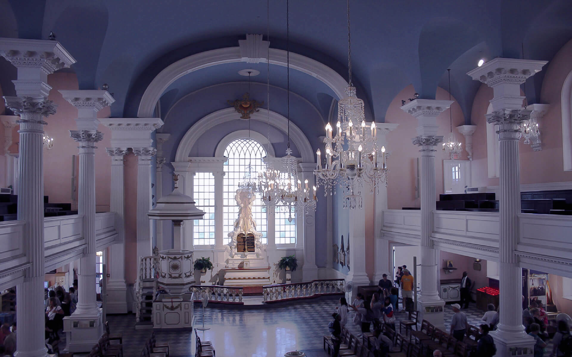 St Paul's Chapel In New York