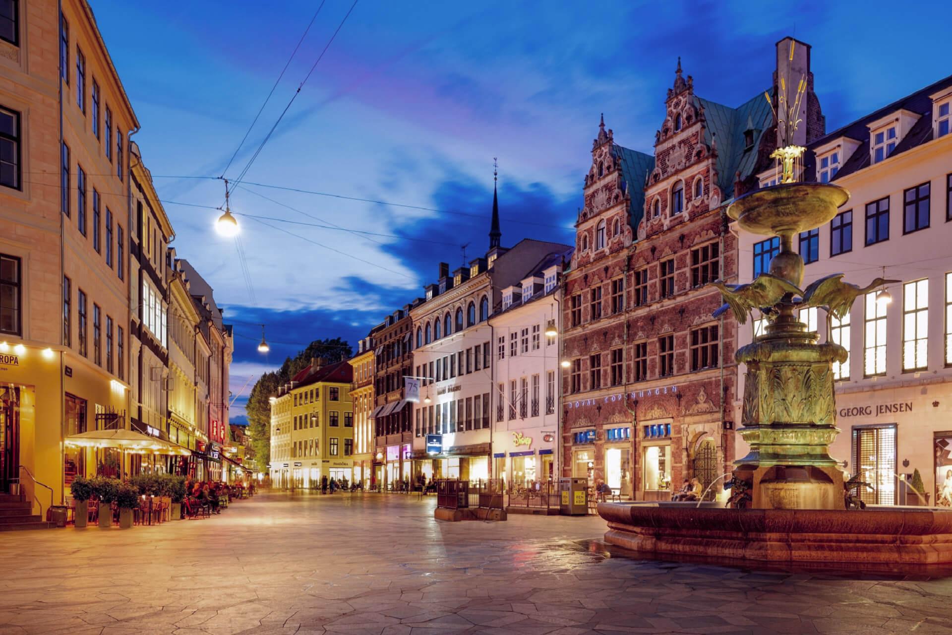 Stroget Street - Inexpensive Pleasure In Expensive Copenhagen