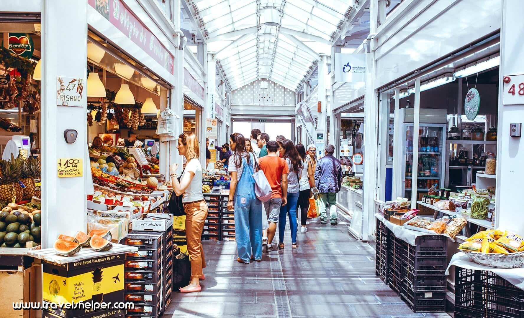 Testacho Market in Rome, Italy