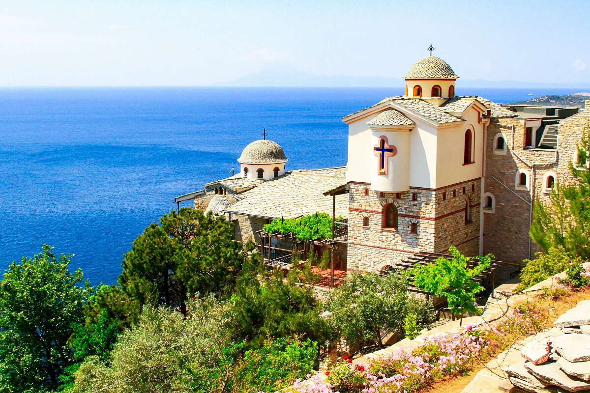 Thassos - Emerald Island - Monastery-of-archangel-michael