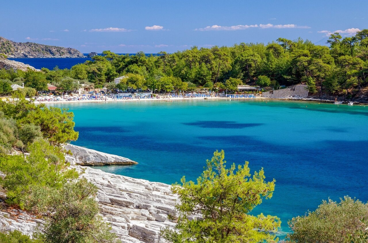 Thassos Island - Floating Forest