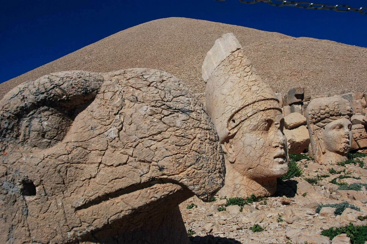 The Nemrut Mountain