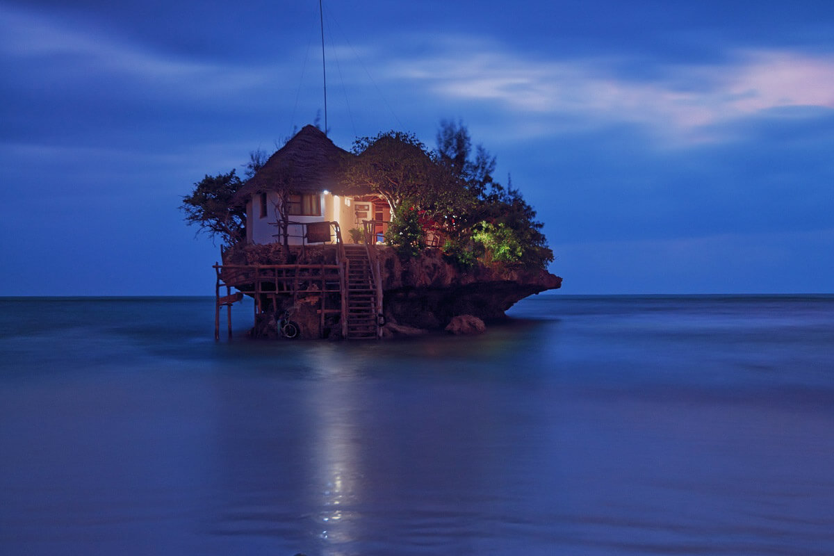 The Rok Restaurant in Zanzibar