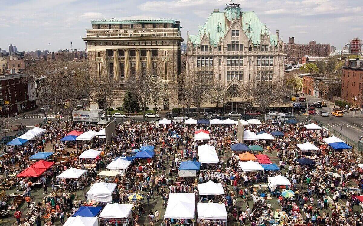 The-flea-market-in-Bruklin