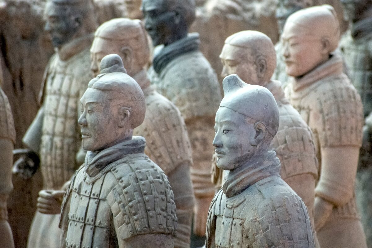 Tomb of China's first Emperor Qin Shi Huang