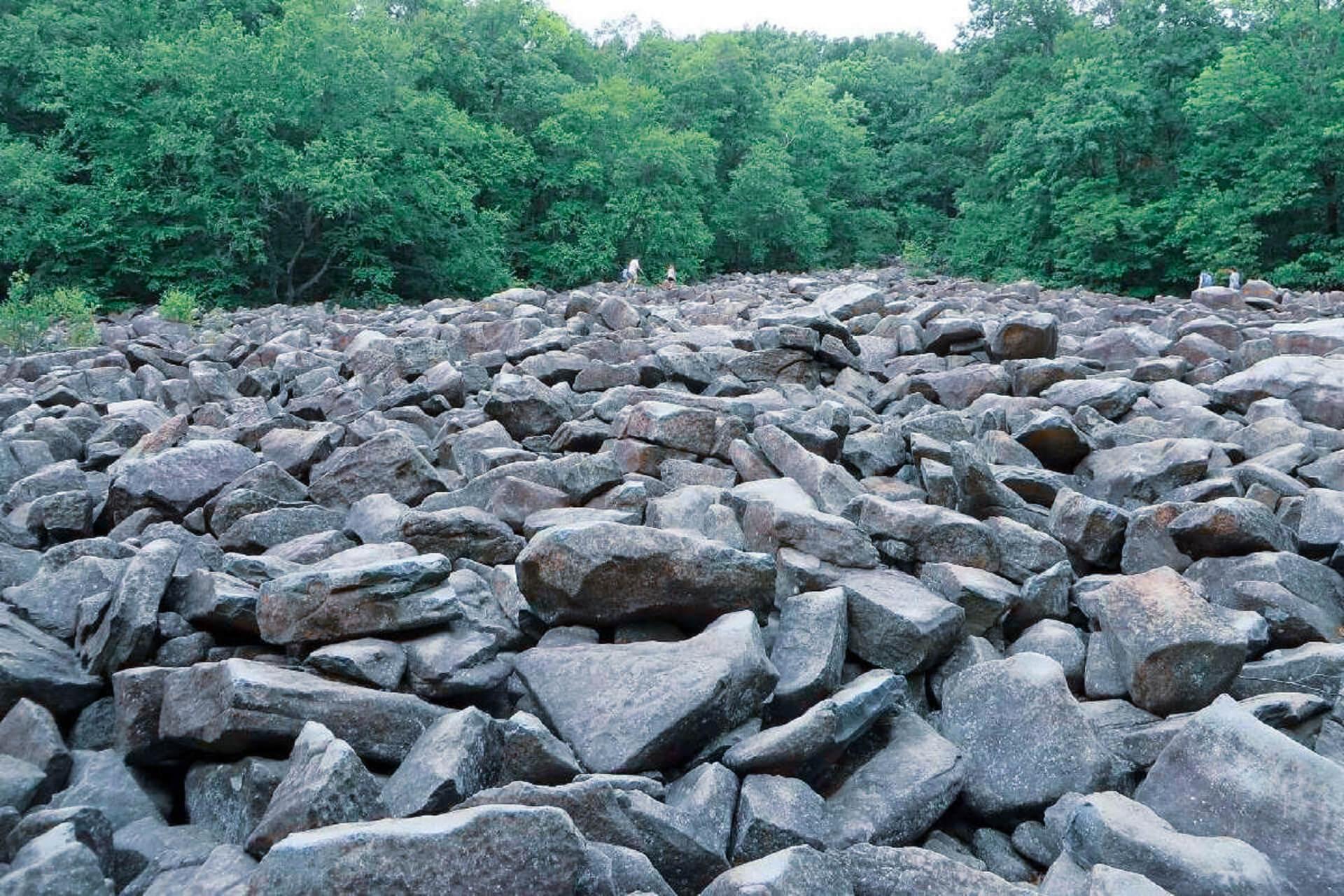 Unusual stones in Pennsylvania