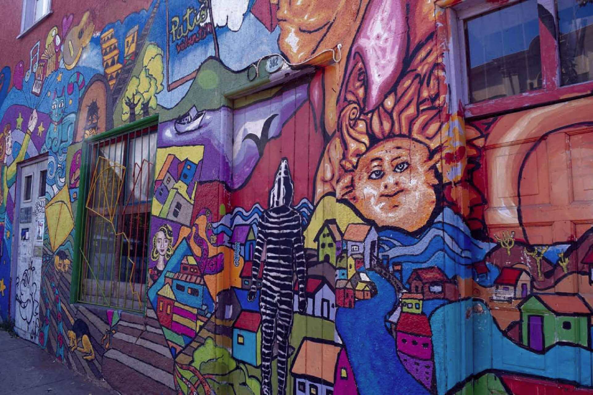 Valparaiso - Cities in which you will be able to enjoy street art