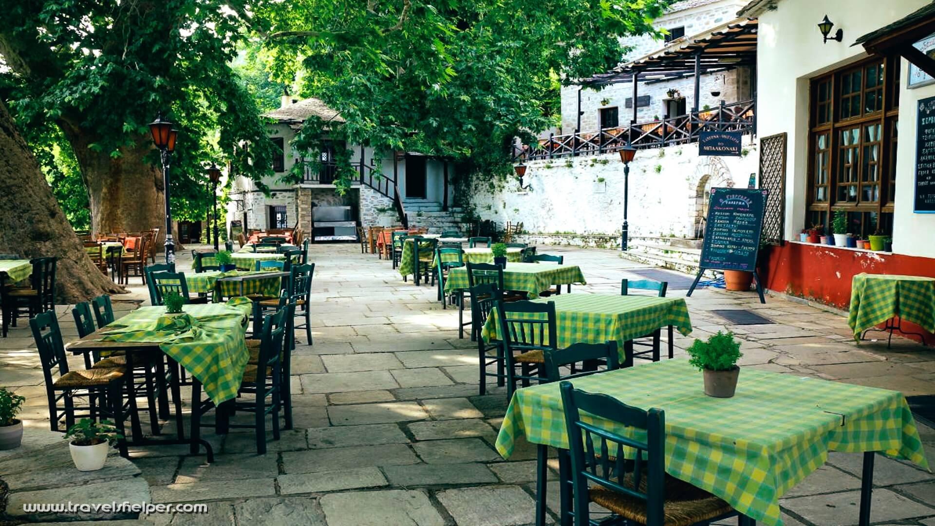 Vizitsa in Pelion, Greece