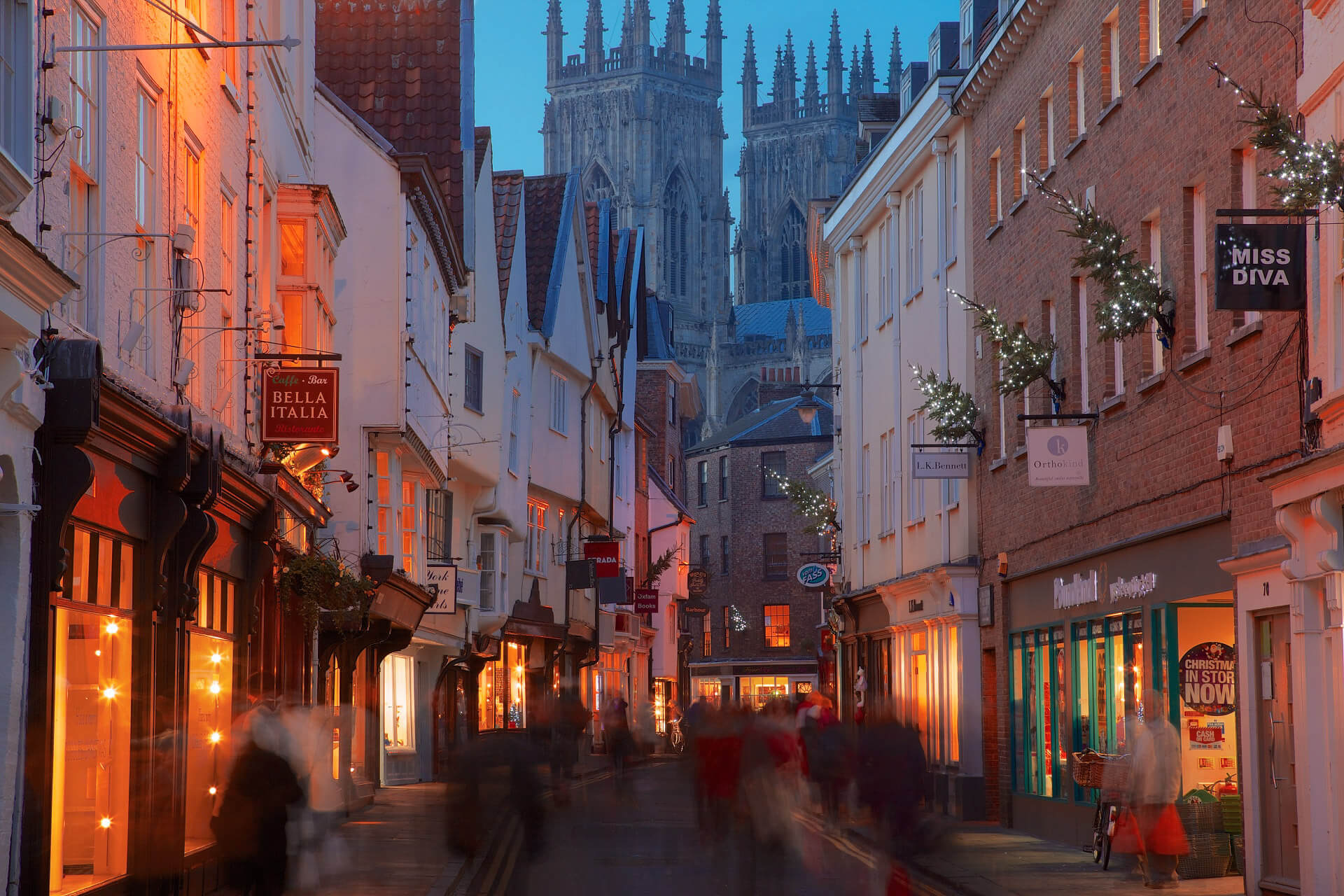 York, UK - A City Where The Tourist Season Lasts All Year Round