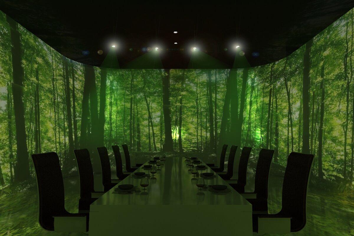 A Restaurant That Stimulates All Our Senses