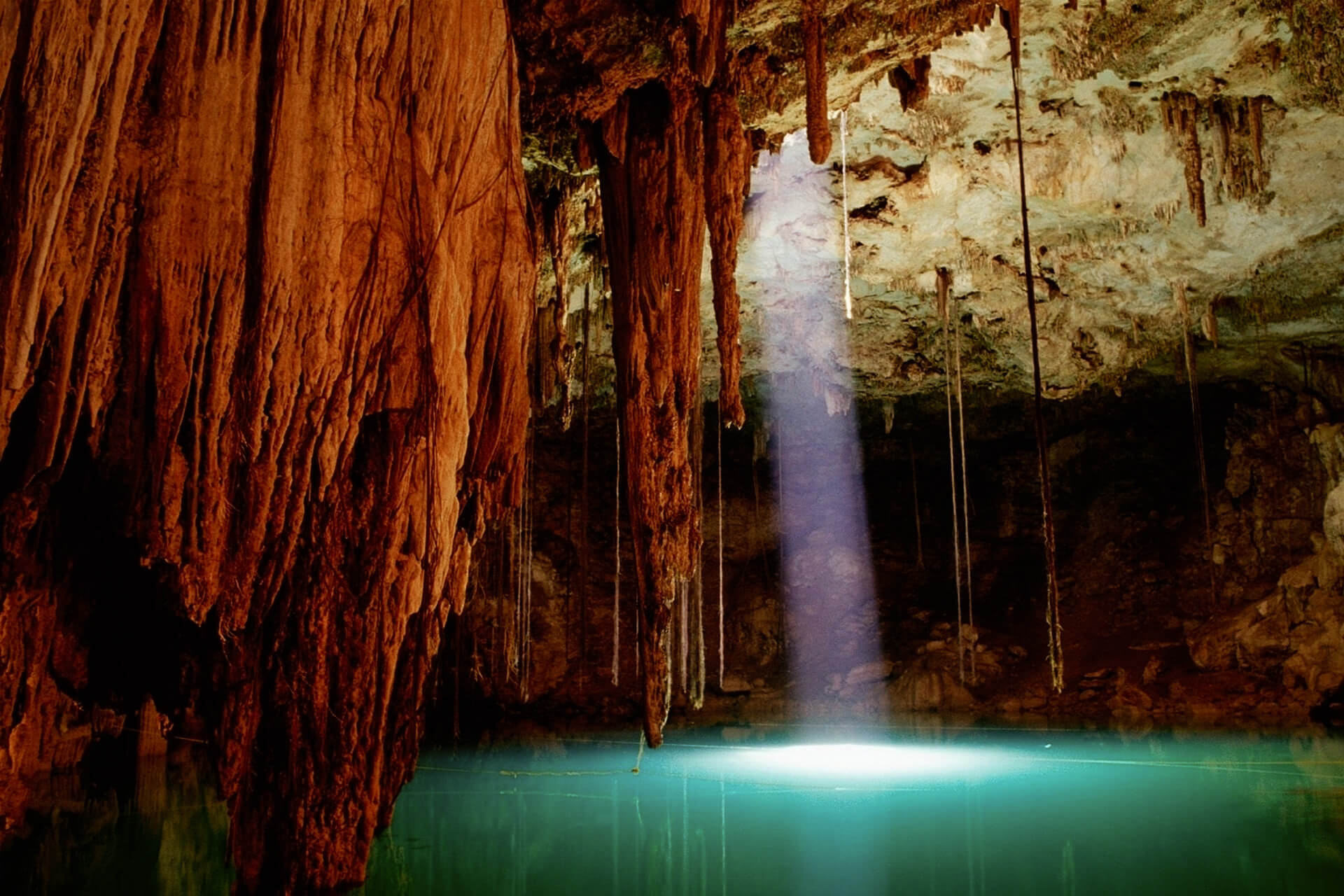 Caves in Mexico