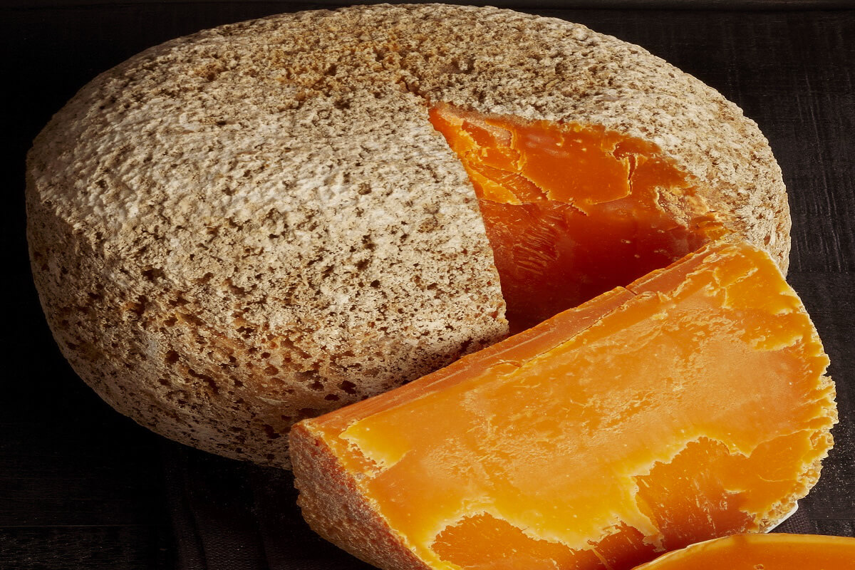 Mimolette is a French specialty