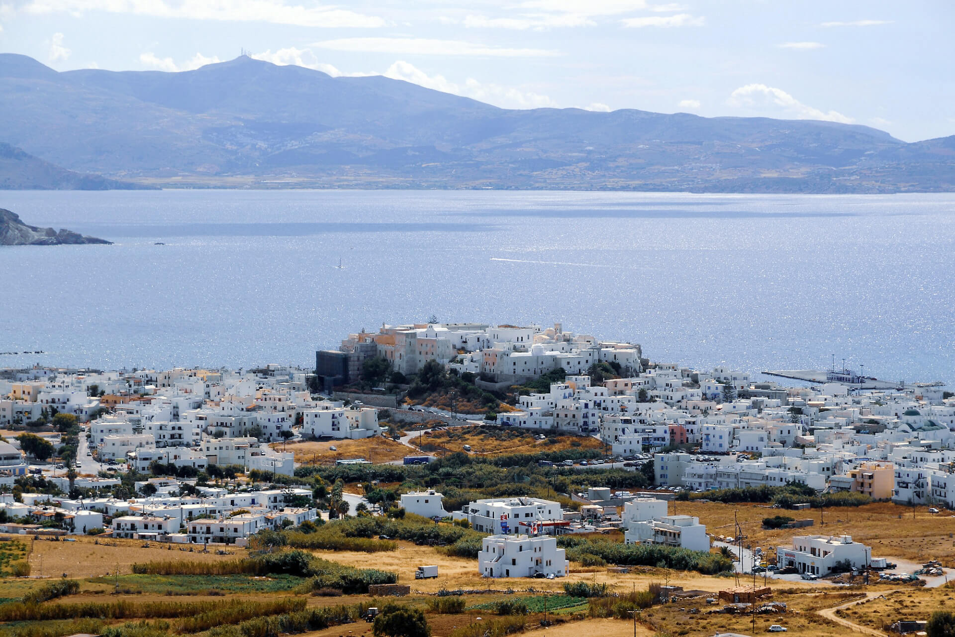 NAXOS Island is the best island for families