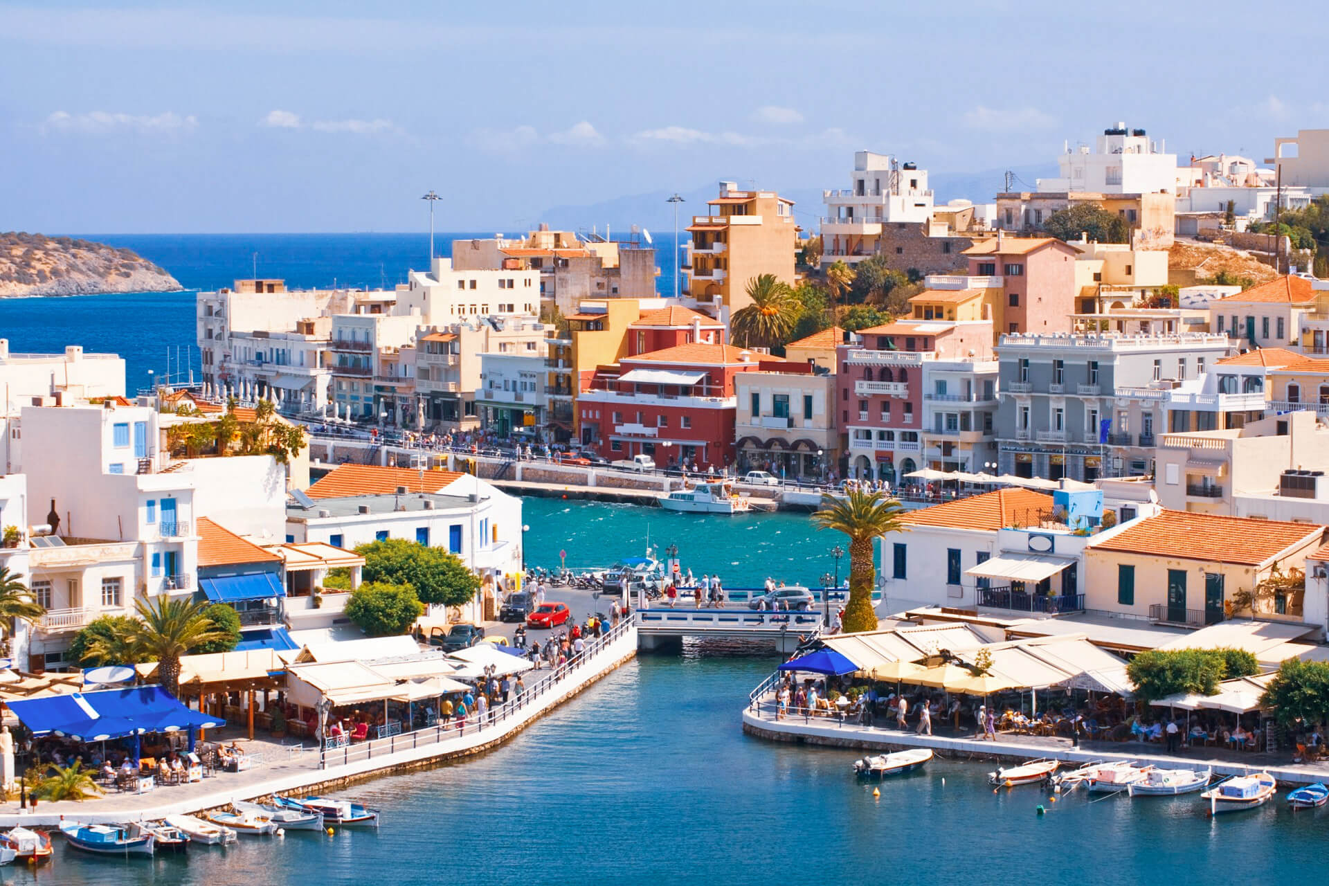 On the island of CRETE you can get the best food