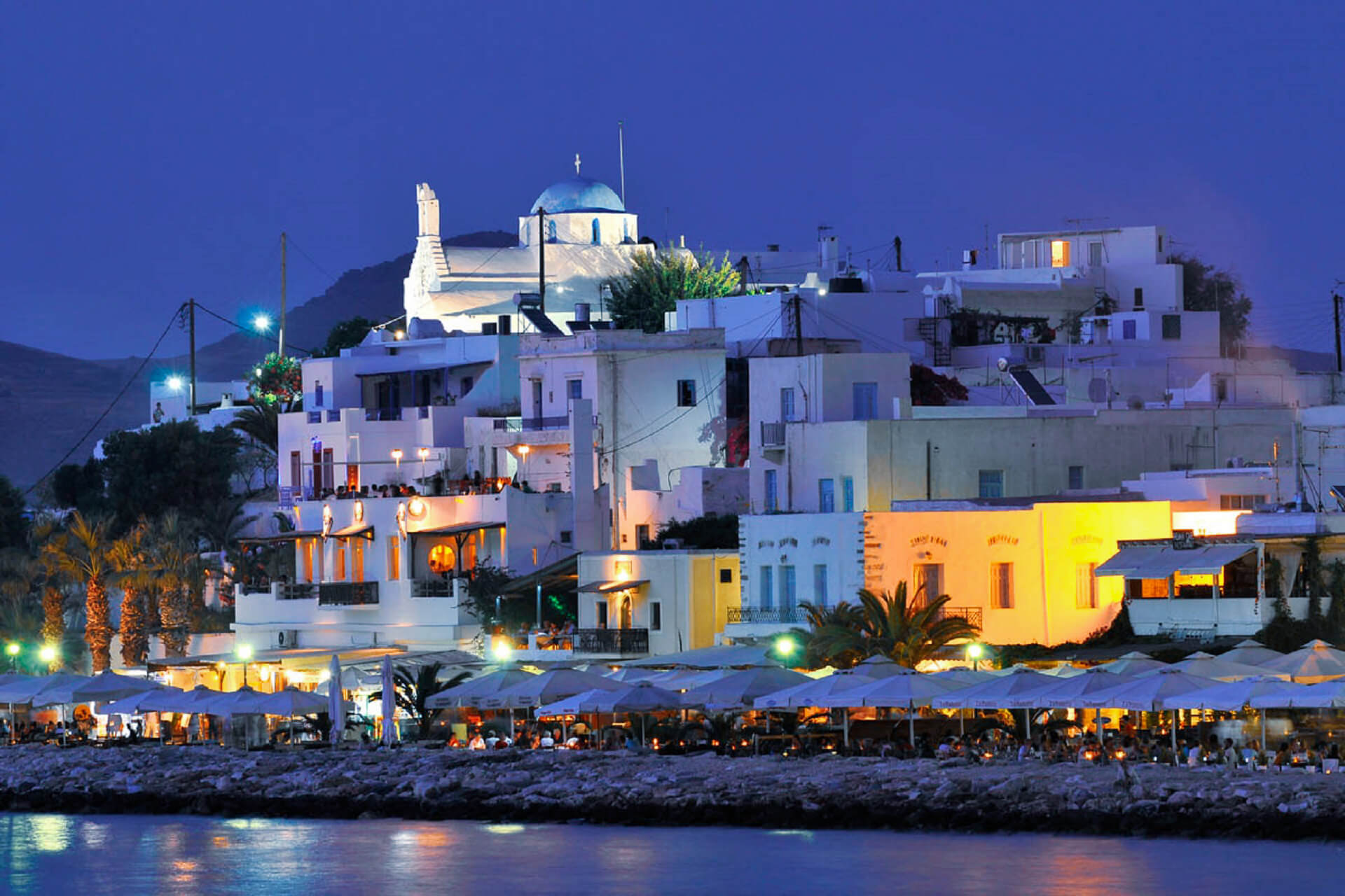 PAROS Island is the best island for windsurfing