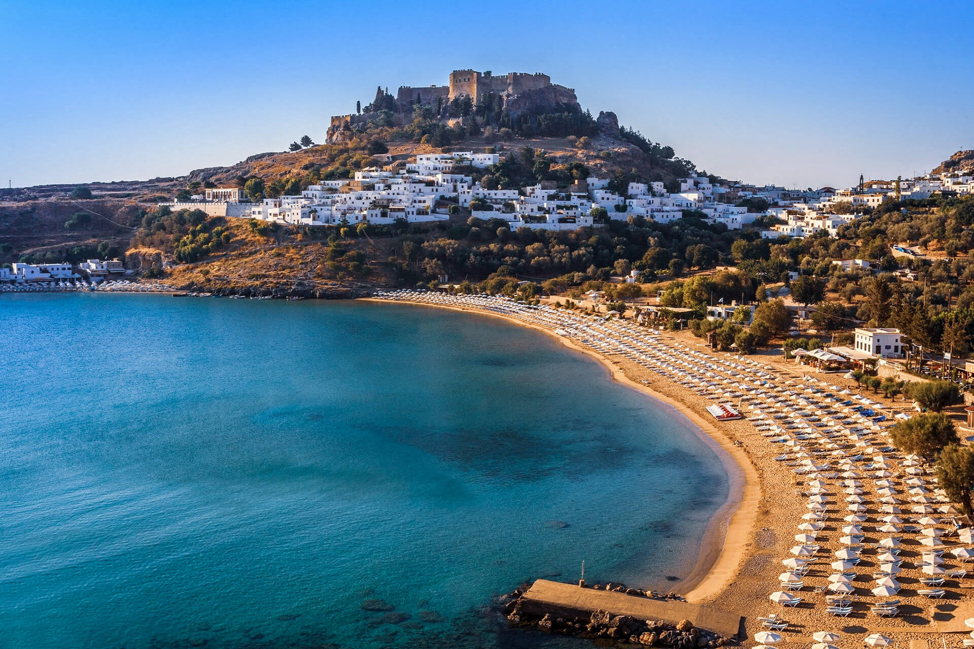 RHODES Island is the best place for history lovers