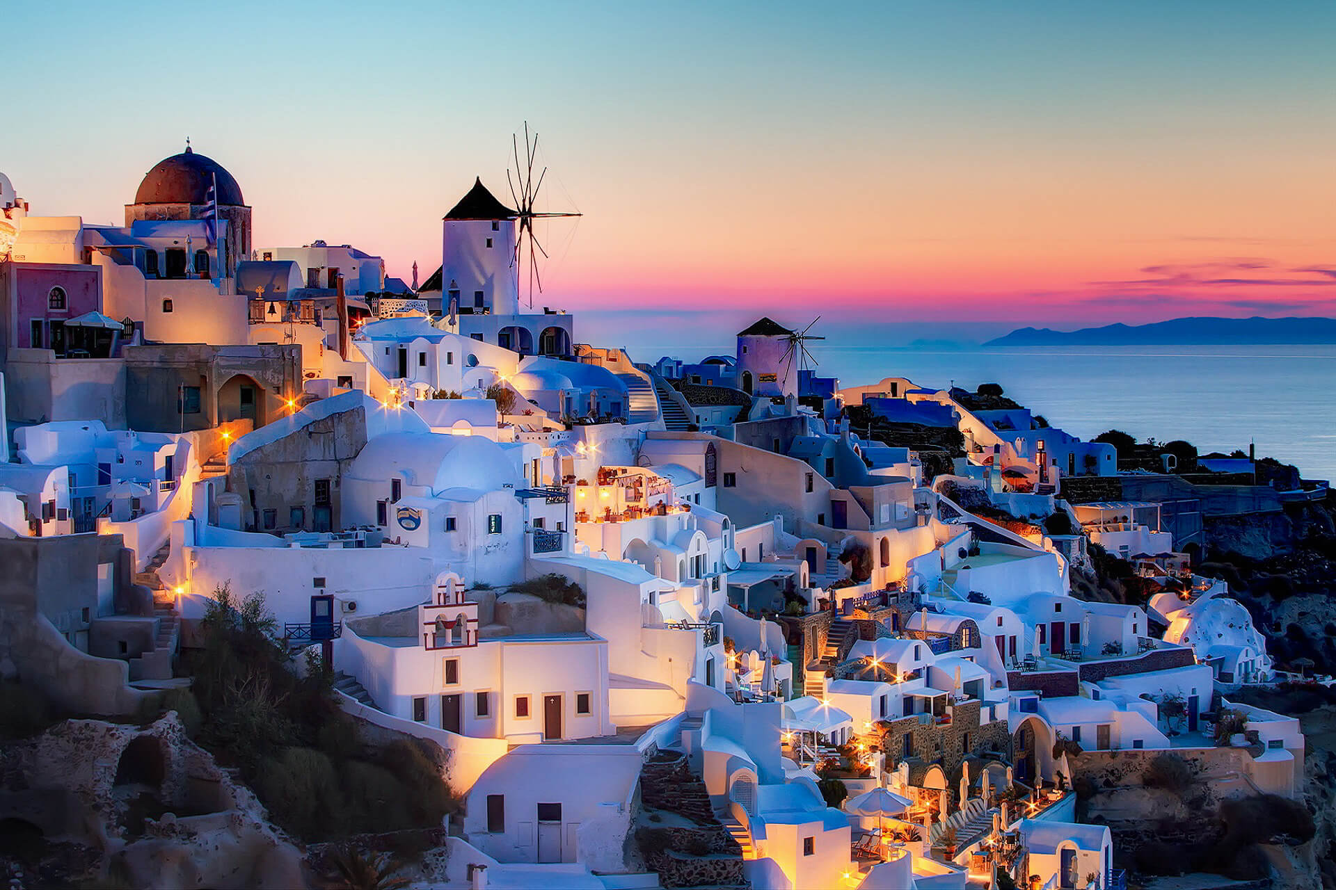 SANTORINI Island is the best place for couples