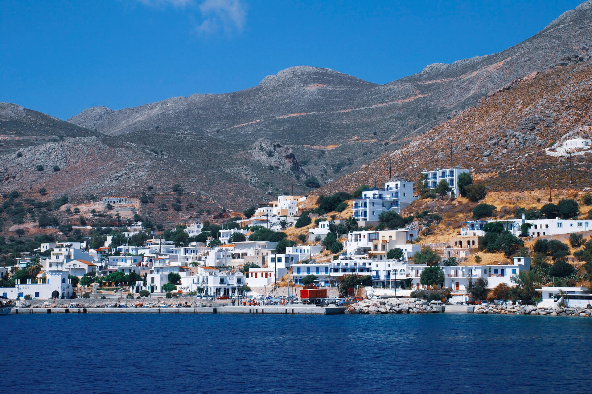 The island of TILOS is the best island to observe the wild world
