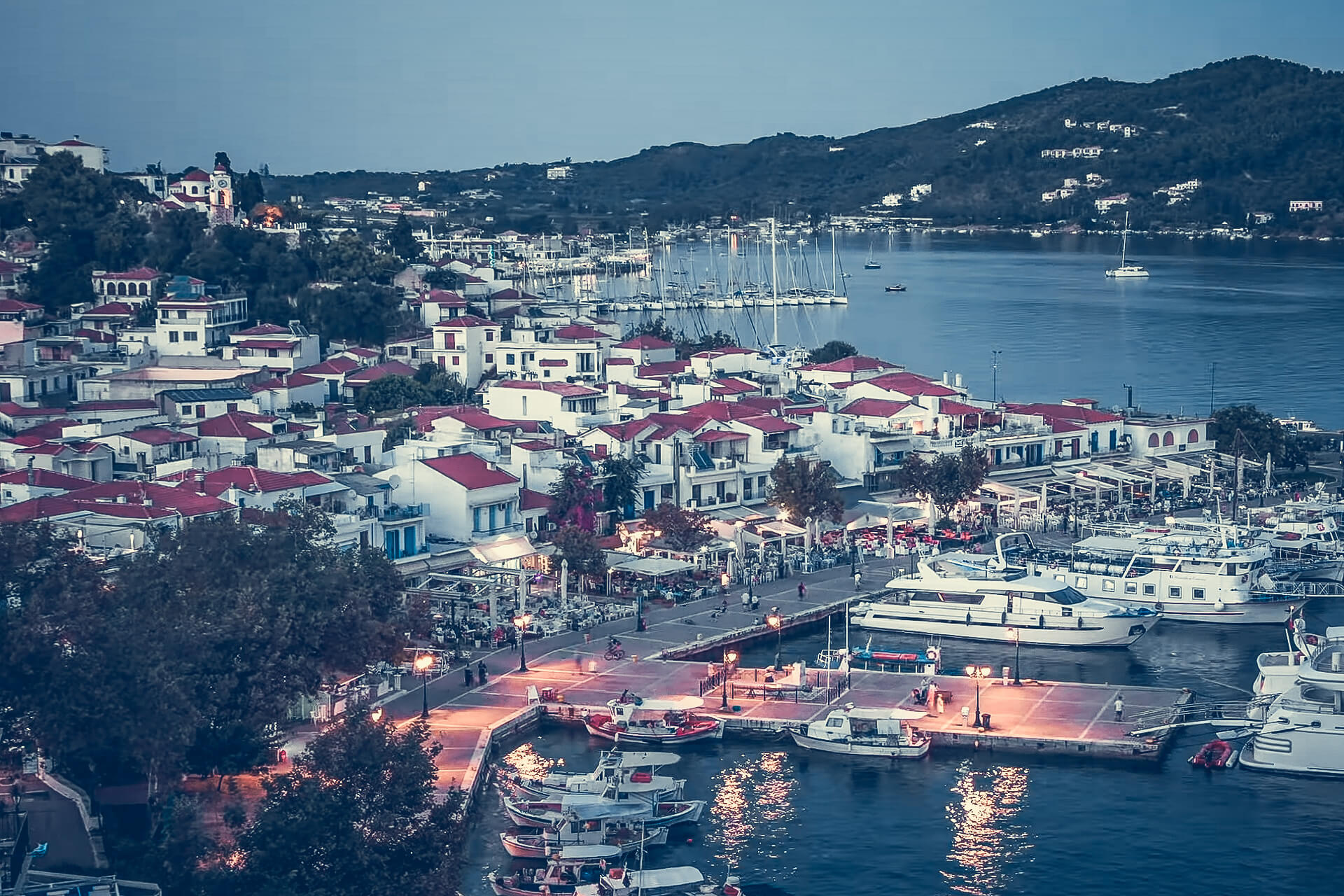 The picturesque Skiathos